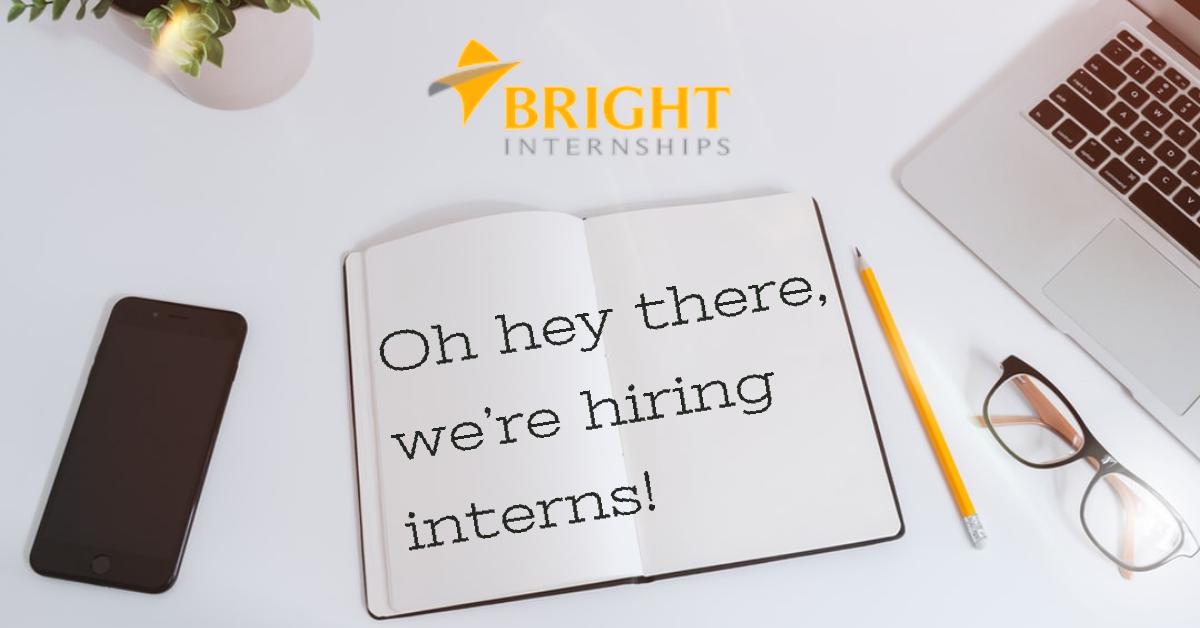 Internship Opportunity at Bright Internships