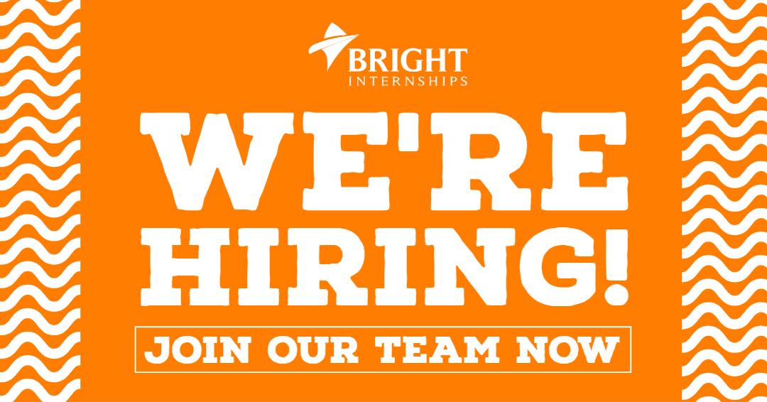 Job Opportunnity at Bright Internships