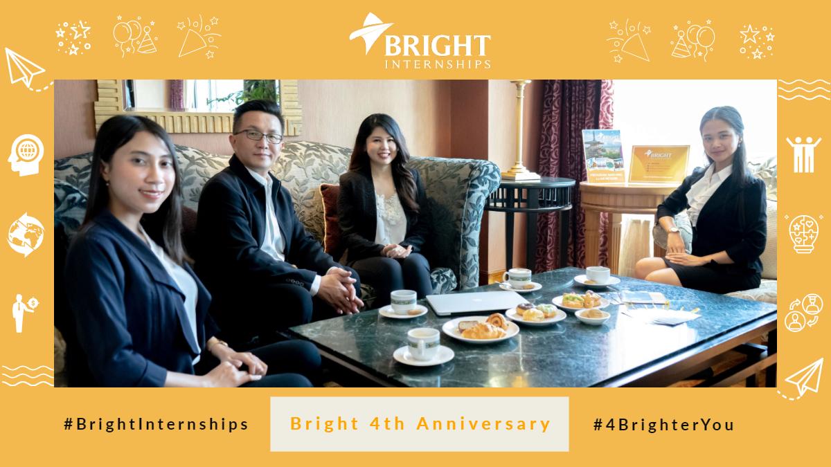 Bright Internships 4th Anniversary