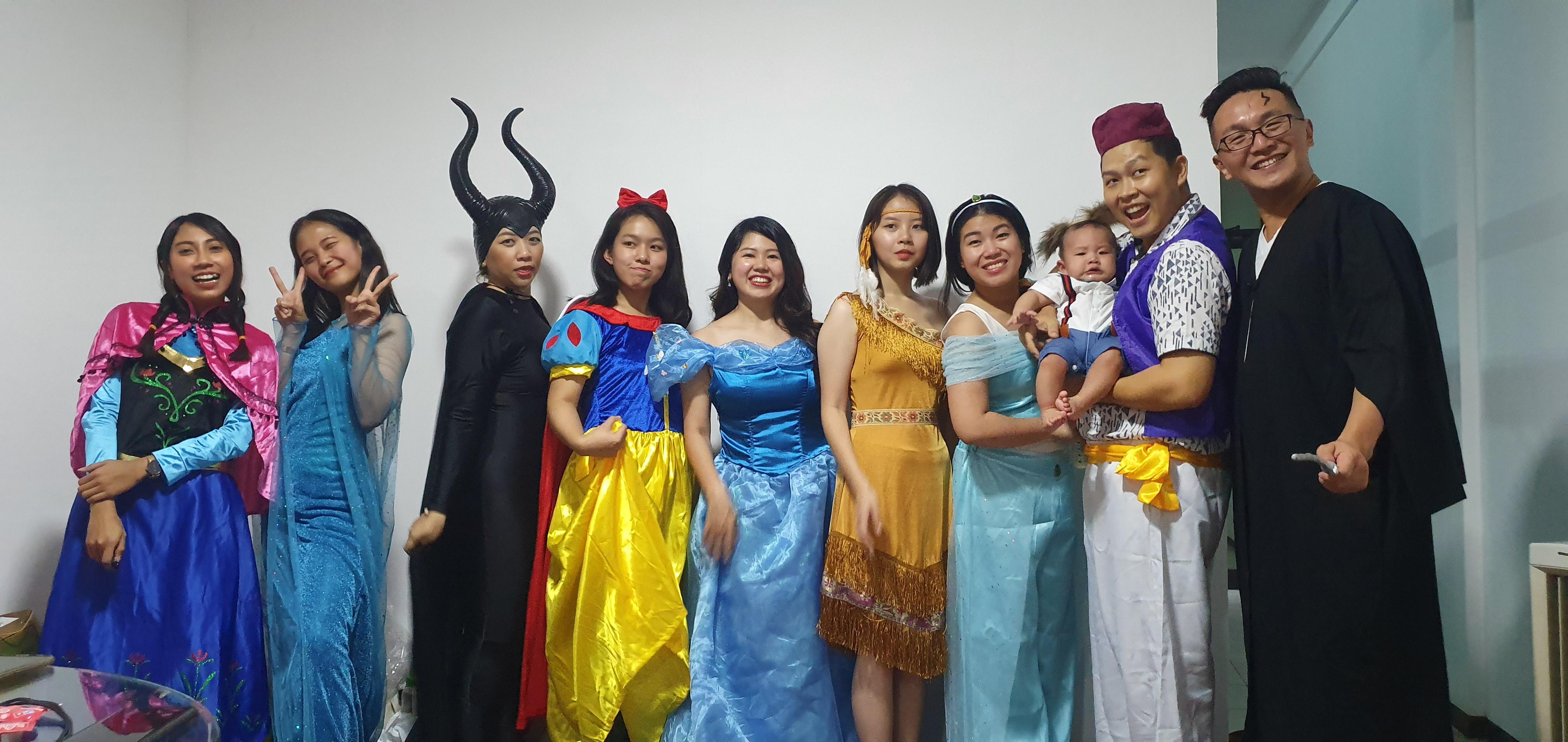 Bright Internships Team Halloween Party
