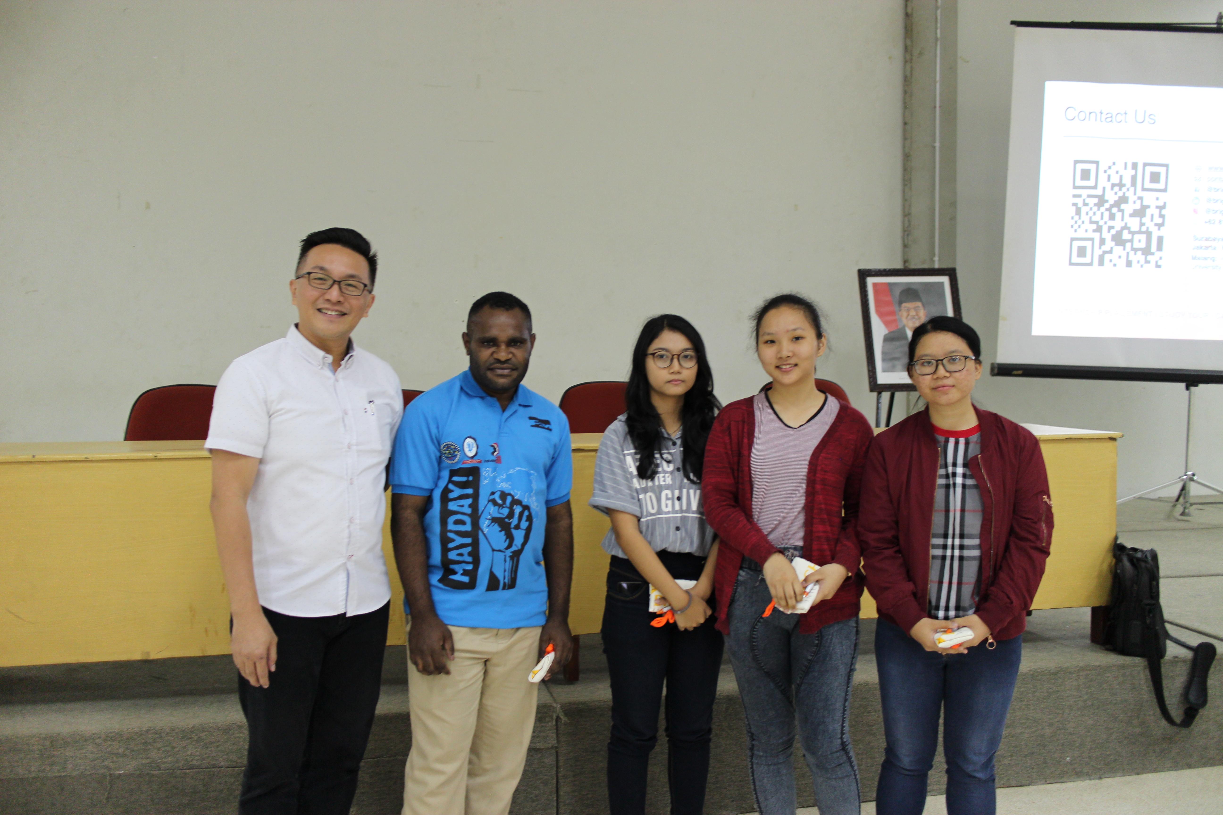 International Program Info Session at Universitas Katolik Widya Mandala Surabaya