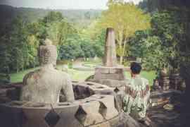 Internship in Indonesia - borobudur image