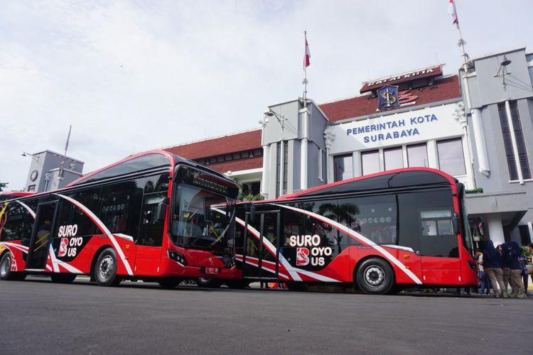 Plastic Bus System Indonesia